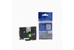 Brother TZ-231 / TZe-231, 12mm x 8m, fekete nyomtatás / fehér alapon, kompatibilis szalag