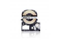 Epson LC-ST9KW, 9mm x 8m, fekete nyomtatás / átlátszó alapon, utángyártott szalag