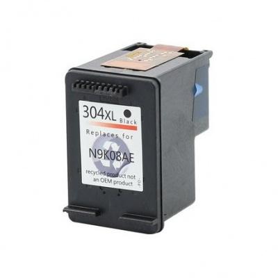 HP 304XL N9K08AE fekete (black) kompatibilis tintapatron