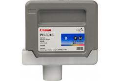 Canon PFI-301BL, 1494B001 kék (blue) eredeti tintapatron