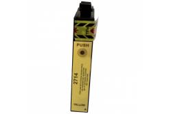 Epson T2714 sárga (yellow) kompatibilis tintapatron