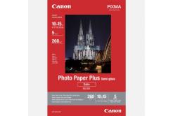 """Canon Photo Paper Plus Semi-Glossy, fotópapírok, polofényes, saténový, fehér, 10x15cm, 4x6"""", 260 g/m2, 5 db, 1686B072, inkoustový"""