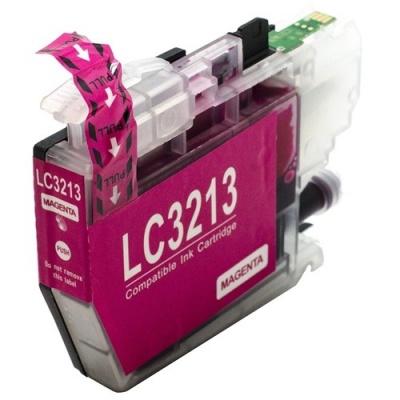 Brother LC-3213 bíborvörös (magenta) kompatibilis tintapatron