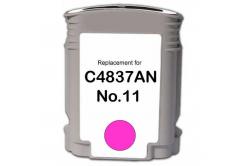 HP 11 C4837A bíborvörös (magenta) kompatibilis tintapatron