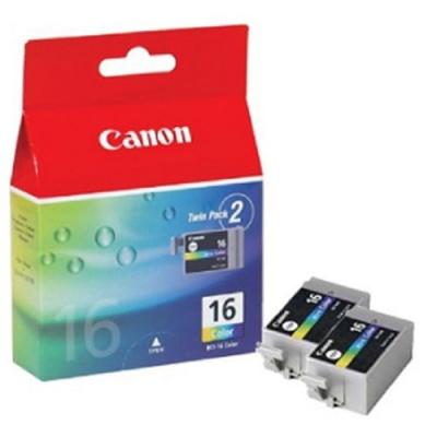 Canon BCI-16C, 9818A020, 9818A002 színes (color) eredeti tintapatron