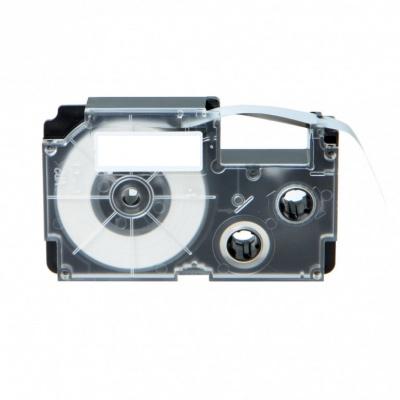 Casio R5YW 9mm x 2,5m zsugorcső, fekete nyomtatás / sárga alapon, kompatibilis szalag