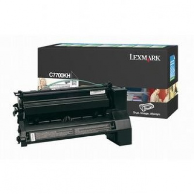 Lexmark C7700KH fekete (black) eredeti toner