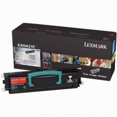 Lexmark E450A21E fekete (black) eredeti toner