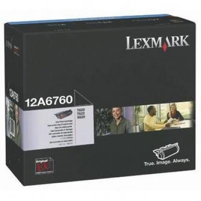 Lexmark 12A6760 fekete (black) eredeti toner