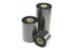 TTR szalagok viasz (wax) 76mm x 74m IN fekete