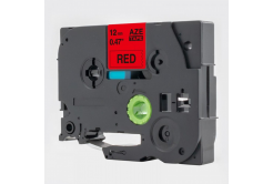 Brother TZe-V431, 12mm x 5,5m, fekete nyomtatás / piros alapon, vinyl, kompatibilis szalag