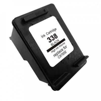 HP 338 C8765E fekete (black) kompatibilis tintapatron