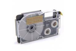 Casio XR-9GD1 9mm x 8m fekete nyomtatás / arany alapon, kompatibilis szalag
