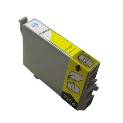 Epson 502XL T02W440 sárga (yellow) kompatibilis tintapatron
