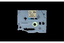 Brother TZ-MPGG31 / TZe-MPGG31, 12mm x 4m, fekete nyomtatás / arany alapon, eredeti szalag