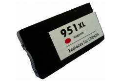 HP 951XL CN047A bíborvörös (magenta) kompatibilis tintapatron
