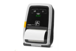 Zebra DT hordozható termo nyomtató ZQ110 WLAN, no card reader, EU cord