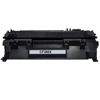 HP 80X CF280X fekete (black) kompatibilis toner