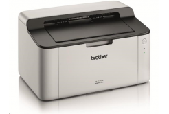 Brother HL-1110E laser nyomtató - A4, 20ppm, 600x600, 1MB, GDI, USB 2.0, fehér