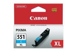Canon CLI-551XLC cián (cyan) eredeti tintapatron