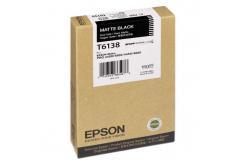 Epson C13T613800 matt fekete (matte black) eredeti tintapatron