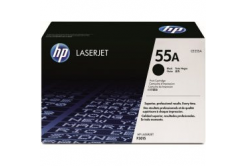 HP 55A CE255A fekete (black) eredeti toner