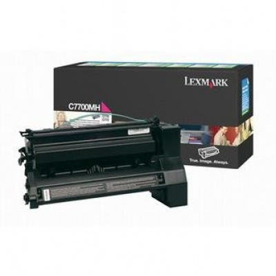 Lexmark C7700MH bíborvörös (magenta) eredeti toner