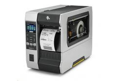 Zebra ZT610 ZT61046-T2E0100Z címkenyomtató, 24 dots/mm (600 dpi), peeler, rewind, disp., ZPL, ZPLII, USB, RS232, BT, Ethernet