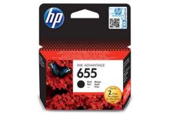 HP 655 CZ109AE fekete (black) eredeti tintapatron