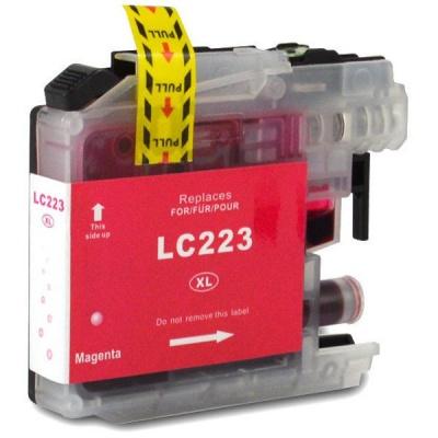 Brother LC-223XL bíborvörös (magenta) kompatibilis tintapatron