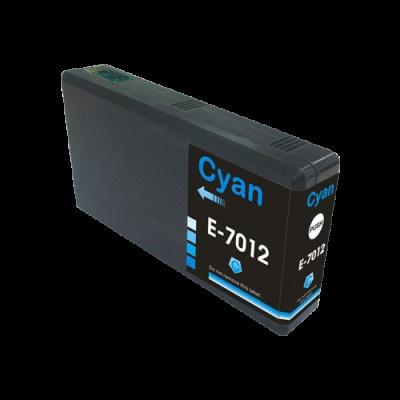 Epson T7012 cián (cyan) kompatibilis tintapatron