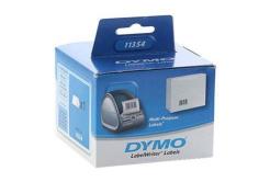 Dymo 11354, S0722540, 57mm x 32mm, 1000 db, fehér, eredeti címketekercs