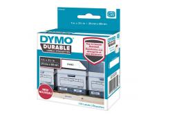 Dymo 1976200, 89mm x 25mm, fehér, polypropylen, eredeti szalag