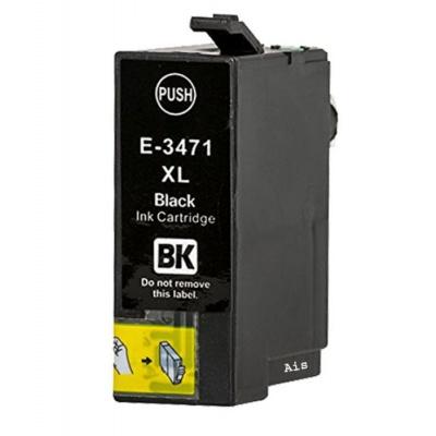 Epson T3471 fekete (black) kompatibilis tintapatron