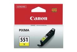Canon CLI-551Y sárga (yellow) eredeti tintapatron