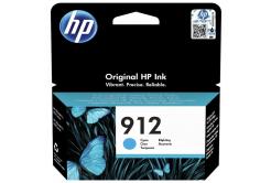 HP 912 3YL77AE cián (cyan) eredeti tintapatron