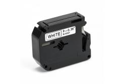 Brother MK-221, 9mm x 8m, fekete nyomtatás / fehér alapon, kompatibilis szalag