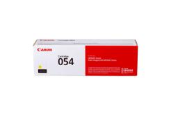 Canon eredeti toner 054Y, yellow, 1200 oldal, 3021C002, Canon i-SENSYS LBP621Cw, 623Cdw, MF641Cw, 643Cdw, 645Cx