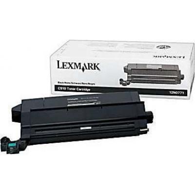 Lexmark 12N0771 fekete (black) eredeti toner
