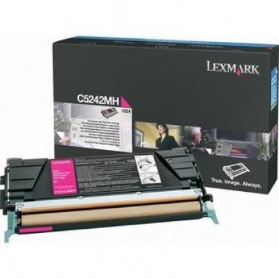 Lexmark C5242MH bíborvörös (magenta) eredeti toner