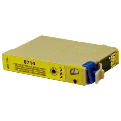 Epson T0714 sárga (yellow) kompatibilis tintapatron