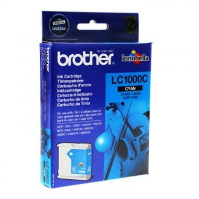 Brother LC-1000C cián (cyan) eredeti tintapatron