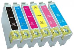 Epson T0807 multipack kompatibilis tintapatron