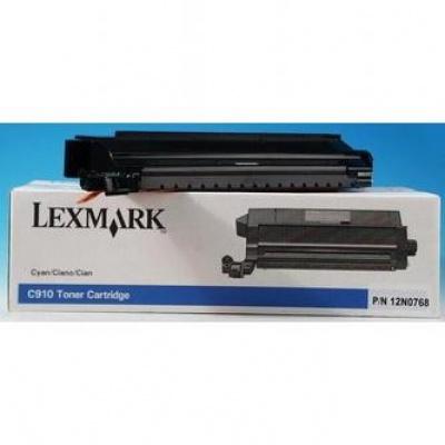 Lexmark 12N0768 cián (cyan) eredeti toner