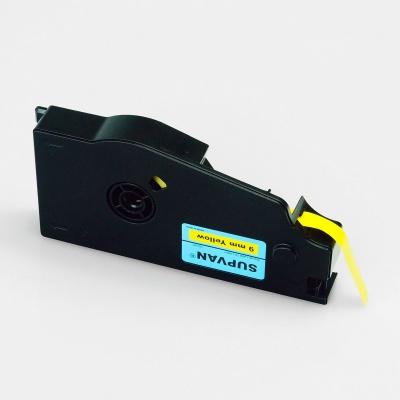 Öntapadó szalag Supvan TP-L09EY, 9mm x 16m, sárga