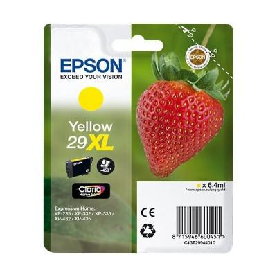 Epson T29944012, T29XL sárga (yellow) eredeti tintapatron