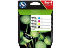 HP eredeti tintapatron multipack 3HZ51AE, HP 903XL, CMYK, 825 oldal, HP
