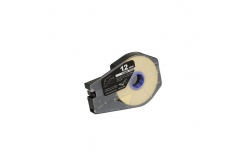 Canon M-1 Std/M-1 Pro / Partex, 12mm x 30m, kazetta, fehér, kompatibilis öntapadó papírszalag