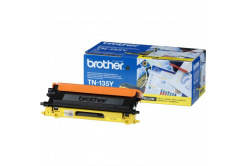 Brother TN-135Y sárga (yellow) eredeti toner