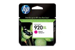 HP č.920XL CD973AE bíborvörös (magenta) eredeti tintapatron, prošlá expirace